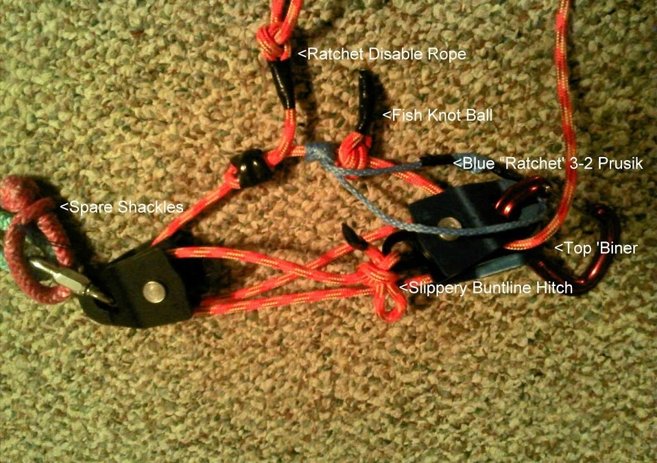 Self Rescue Pulley Kit | Ridaho!